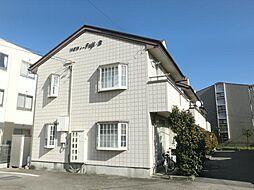 長野県松本市井川城3丁目の賃貸アパートの外観