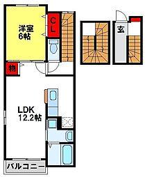 フリーダムレジデンスI[3階]の間取り