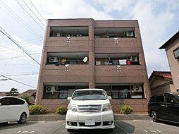 愛知県北名古屋市九之坪宮浦の賃貸マンションの外観