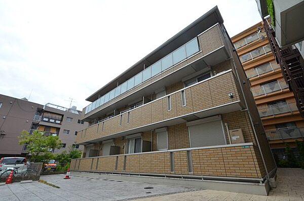 兵庫県西宮市戸田町の賃貸アパートの外観