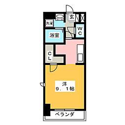 メゾンドール[6階]の間取り