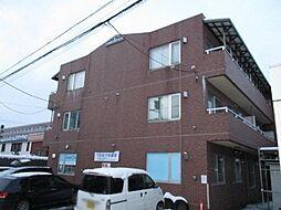 北海道札幌市中央区南二十一条西11丁目の賃貸アパートの外観