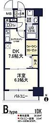 ソラージュ茨木[4階]の間取り