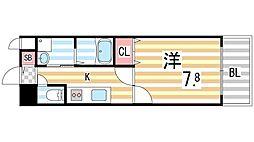 S−FORT住道[7階]の間取り