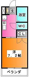 ドルチェ・サカキ[1階]の間取り