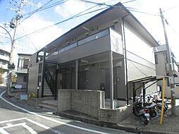 兵庫県西宮市名次町の賃貸アパートの外観