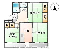山田ビル[5階]の間取り