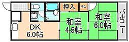 綾瀬ビル[3階]の間取り