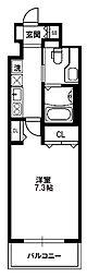 セレッソコートリバーサイドOSAKA[5階]の間取り