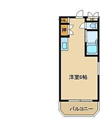 兵庫県尼崎市尾浜町2丁目の賃貸マンションの間取り