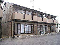 滋賀県野洲市西河原2丁目の賃貸アパートの外観