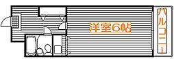 ソシアーレ・ミラン武蔵浦和パートII[310号室]の間取り