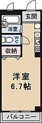 グランドヒル瀬田[3B号室号室]の間取り