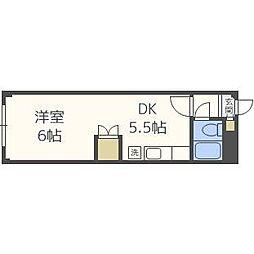 FINE CREST N21[2階]の間取り
