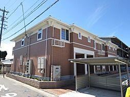 愛知県あま市本郷取替の賃貸アパートの外観