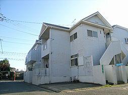 福岡県福岡市東区雁の巣1丁目の賃貸アパートの外観