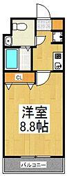 パインバンフソノ[3階]の間取り