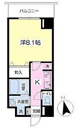 カンフォーラ松崎3階Fの間取り画像