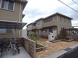 兵庫県加古川市野口町坂元北2丁目の賃貸アパートの外観