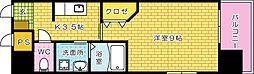 アクアシティ本川町[506号室]の間取り