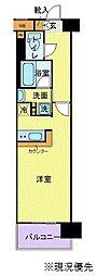 神奈川県横浜市港北区新横浜3丁目の賃貸マンションの間取り