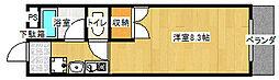 メゾンH&DII[302号室号室]の間取り