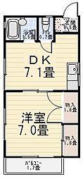 パレスホリケ6[103号室]の間取り