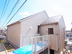 神奈川県横浜市金沢区富岡西3丁目の賃貸アパートの外観