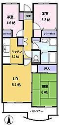 メゾン・ド・ベール早稲田3[108号室]の間取り