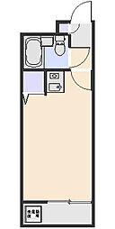 煉瓦館68[303号室]の間取り