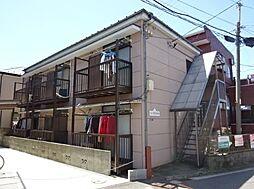 コーポ安井B[1階]の外観
