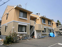 東京都日野市多摩平7丁目の賃貸アパートの外観