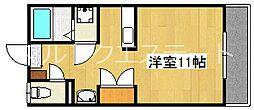 丸元ビル[3階]の間取り
