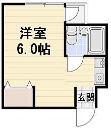 JPアパートメント守口V[305号室]の間取り