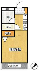 第3関根ビル[303号室号室]の間取り