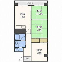 第17松井ビル[2階]の間取り