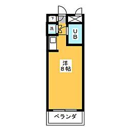 八事ガーデンヒルズ[4階]の間取り