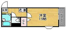 シェモアキヨシ[2階]の間取り
