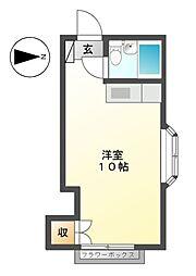 ウィーンコーポ[2階]の間取り