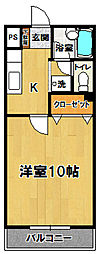 トリニティミツワ3[305号室]の間取り