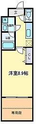 ローズ・メイ[102号室]の間取り