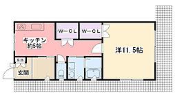 [一戸建] 兵庫県西宮市東鳴尾町1丁目 の賃貸【兵庫県 / 西宮市】の間取り