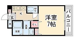 Enuz45[108号室]の間取り