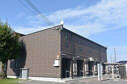 兵庫県三田市下井沢の賃貸アパートの外観