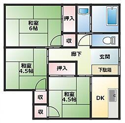 中山邸[1階]の間取り