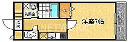 アライブキノ[205号室号室]の間取り