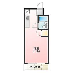 コスモ・マンション[2階]の間取り