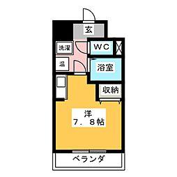 英和マンション龍禅寺[3階]の間取り
