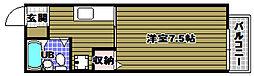 マローネ千代田[2階]の間取り