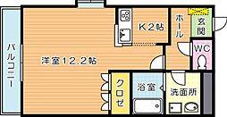 ハーブフォレスト[2階]の間取り
